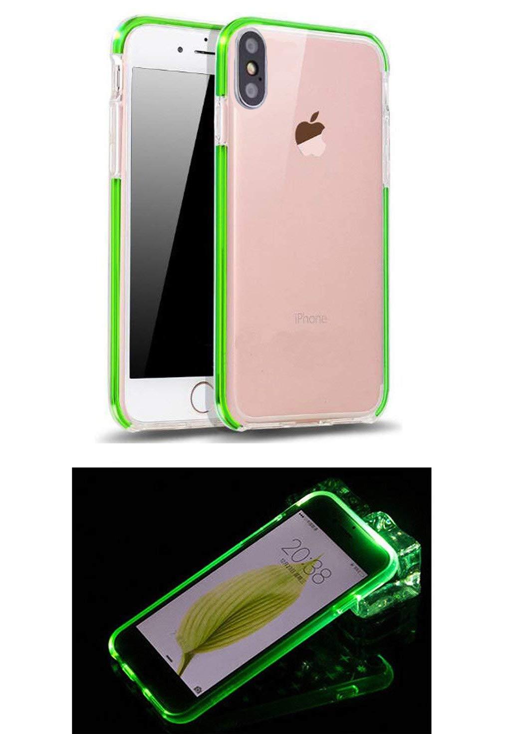 online store aec9c fb535 Amazon.com: Calmpal iPhone X Led Flash,2 in 1 Anti-Scratch Soft ...