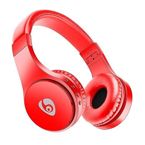Auriculares Bluetooth, Appow Auriculares inalámbricos plegables para bajo la música con micrófono, Auriculares Bluetooth
