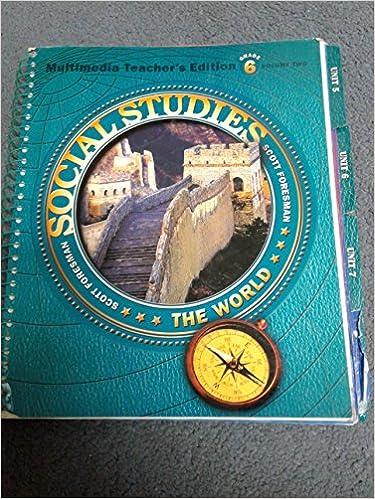 Scott Foresman Social Studies The World Grade 6 Vol 2
