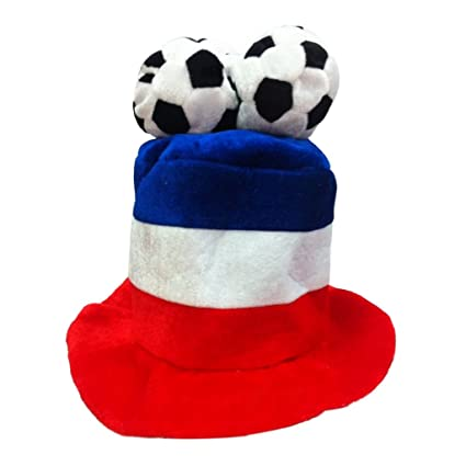 3abdd217a0e Hibye FIFA World Cup Russia 2018 Football Shaped Hat Party Cap Festival  Decorate Supplies