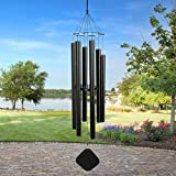 Cheap Music of the Spheres Pentatonic Alto 50 Inch Wind Chime, Black .#GH45843 3468-T34562FD768869