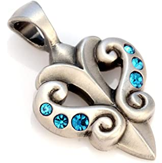 - the dynamics of love B44 Bico Seeds Pendant Coloured Resin and Metal Tribal Street Jewellery