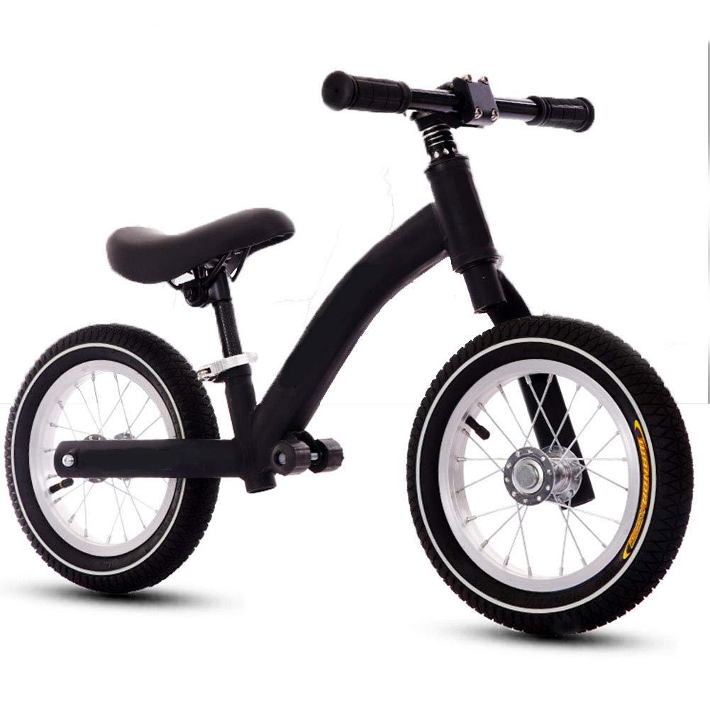 Kinder Balance Auto High Carbon Stahl Rahmen Ohne Pedal Training Baby 12 Zoll Fahrrad Verstellbarer Lenker und Sitz