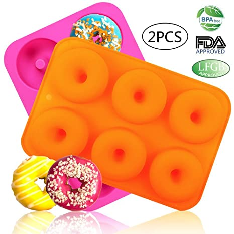 Review LoveS (2pcs) 6-Cavity Silicone