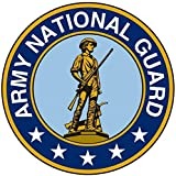 1 Pc Overwhelming Unique Army National Guard Sticker Signs Outdoor Window Indoor Graphics Truck Bumper Decals Cars Vinyl Decor Bike Patches Wall Hoverboard Trucks Decal Car Stickers Size 12''x12''
