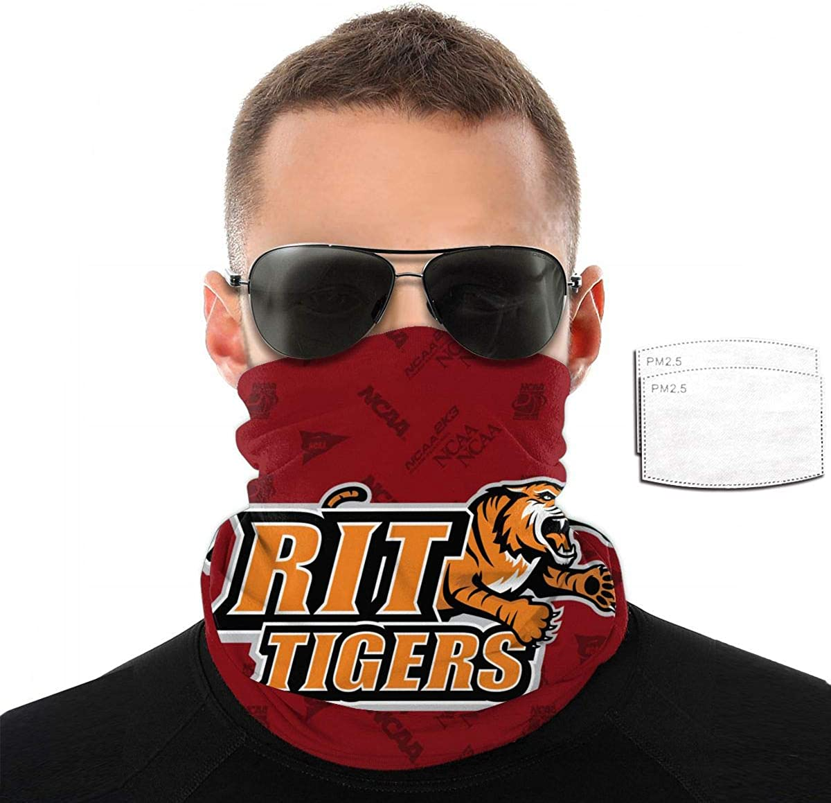 Rochester Institute of Technology Tigers Facial Decoration with Activated Carbon Filter