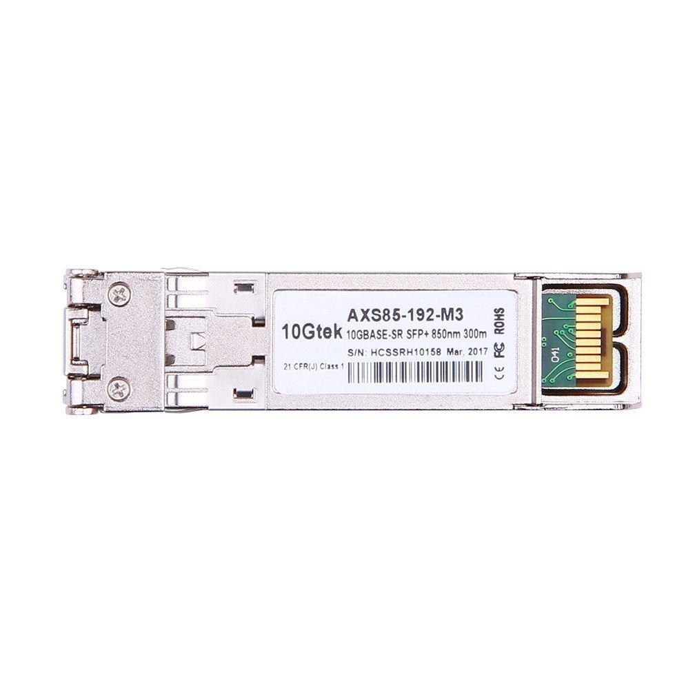 10 Gigabit SFP+ LC Multi-Mode Transceiver, 10GBASE-SR Module for Brocade  10G-SFPP-SR (850nm, DDM, 300m)