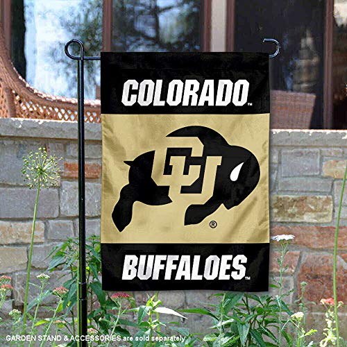 University of Colorado Garden Flag and Yard Banner