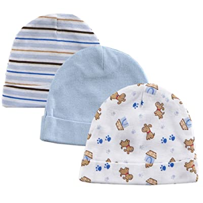 3-Pack Infant Caps