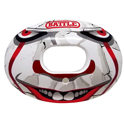 Amazon.com: Battle - Protector bucal de fútbol (oxígeno de ...