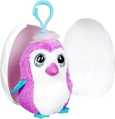 Hatchimals Egg Soft Plush Clip-on avec sons-mystérieux personnage