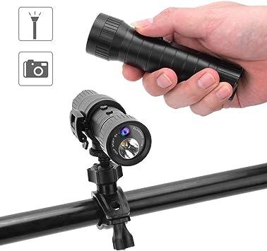 Mini Linterna LED, grabadora de Video a Prueba de Agua DV Mini ...