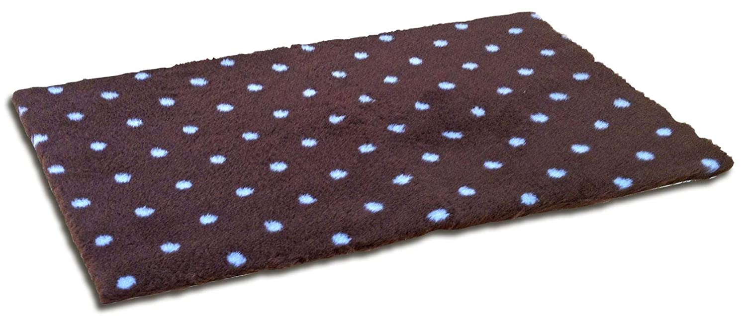 Vetbed Rug Grey Paws-Accessories Dog Puppies and Canvas, Multicoloured, One Size