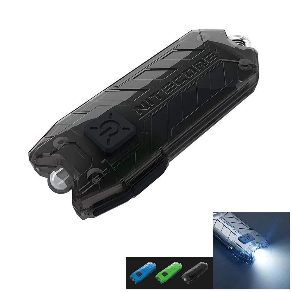 Porte-clé s Lampe de poche NITECORE Tube U Lampe USB Recharge Glaring Light Lampe de poche Porte-clé s en forme de mini é tanche EDC Light EZSHOP