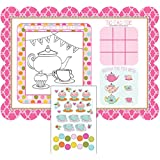 Tea Time Placemats with Activity Stickers