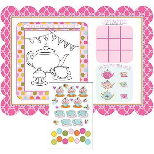 Tea Time Placemats Activity Stickers