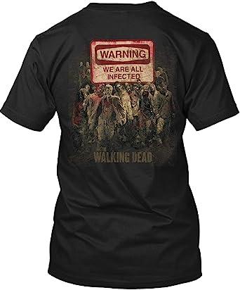 Mrs Daryl Dixon Ladies T Shirt Walking Dead Rick Grimes Unisex Womens Top Black