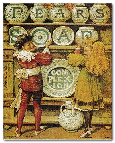Wall Decor Pears Soap Vintage Ad Advertisement Art Print Poster (8x10)