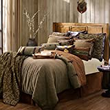 HiEnd Accents LG1860-TW-OC 4 Piece Highland Lodge Collection, Twin