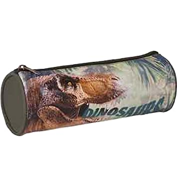 Estuche de dinosaurios: Amazon.es: Oficina y papelería