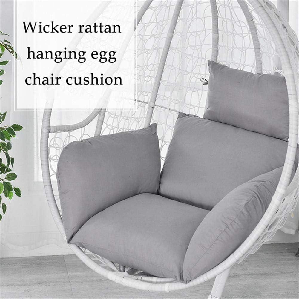 Non-Slip Soft Swing Chair Cushion Swing Hanging Basket Chair Cushion Hanging Egg Hammock Chair Cushion Multi-Color Thickened Non-Slip Cushion