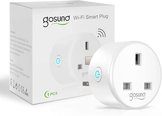 Smart Plug, Gosund Alexa Smart Socket Works with Amazon Alexa, Google Home, WiFi Plugs Outlets Energy Monitoring Timing Function, No Hub Required, 2.4Ghz only (1 Pack): Amazon.co.uk: DIY & Tools