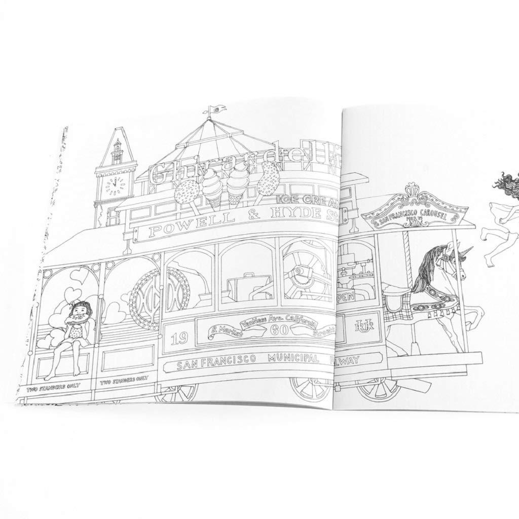 Huyiko Livre Pour Enfants Graffiti Coloring Book Peinture English Books Zen Mandalas