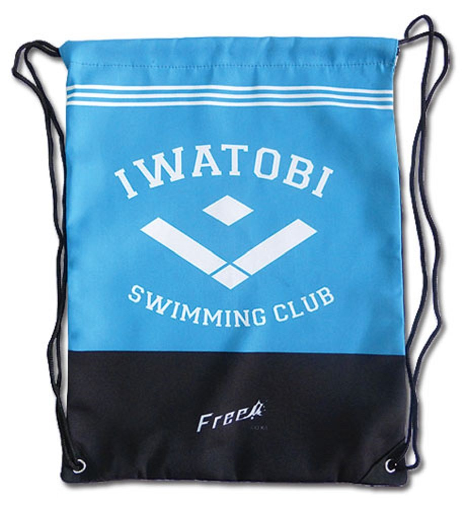 Free! Iwatobi Swim Club: Iwatobi High School Logo Drawtsring BAG