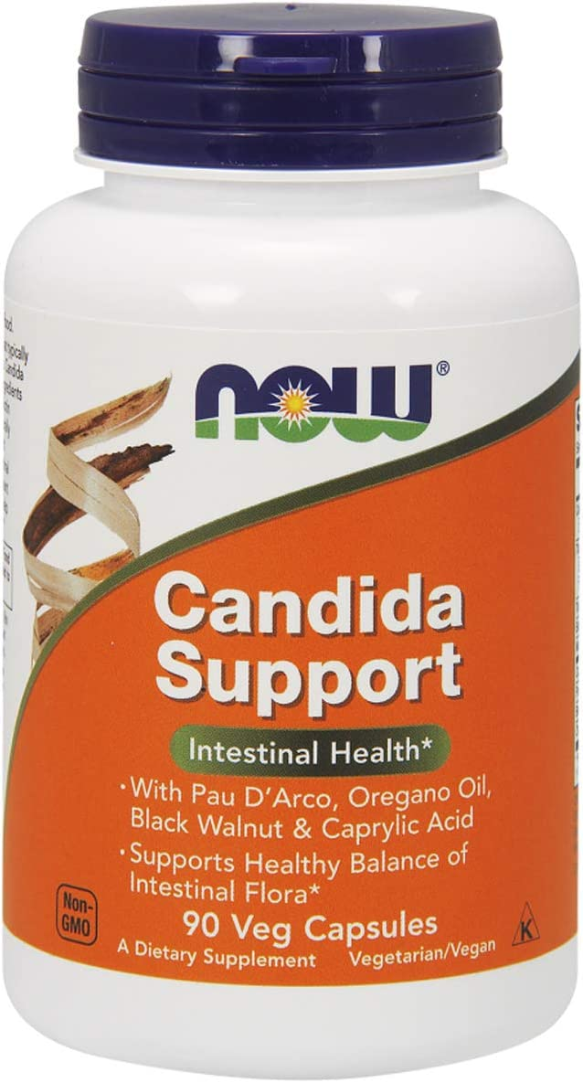 NOW Candida Support - 90 Cápsulas
