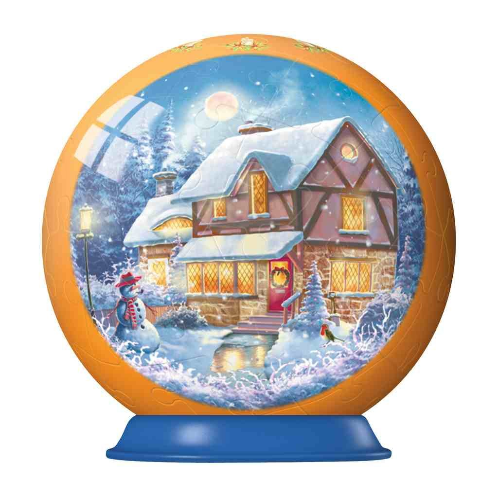 Ravensburger 3D Christmas Puzzleball 54-pc: