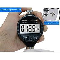 0-100HD Dureza Shore digital Durómetro Probador de dureza