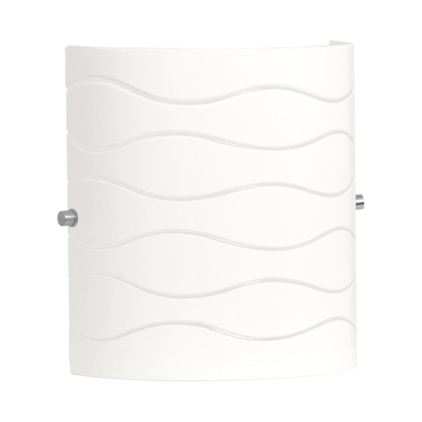 Avellina 1 Light Wall Sconce Lighting Fixture - Carved Opal Glass - Linea di Liara LL-WL828