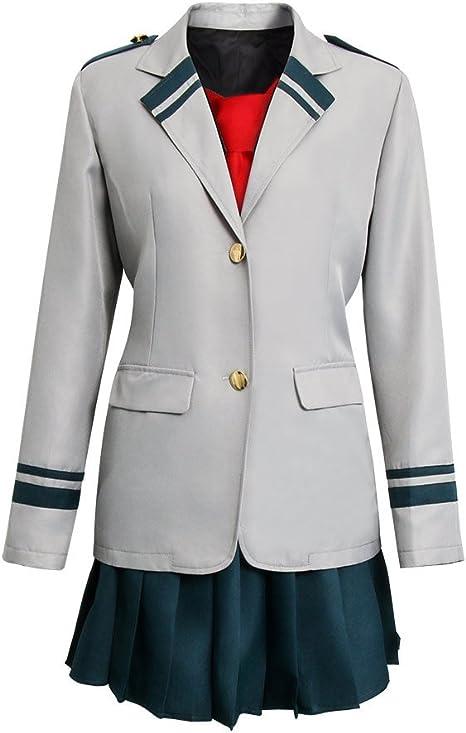 NUWIND My Hero Academia Uniforme Chica Estudiante Traje Boku ...