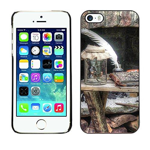 Premio Sottile Slim Cassa Custodia Case Cover Shell // F00013766 bois // Apple iPhone 5 5S 5G