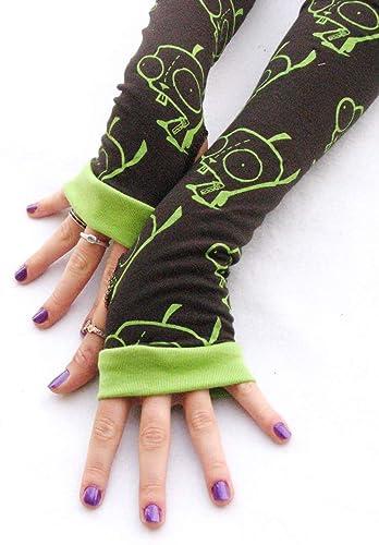 Invader Zim Gir Arm Warmers Fingerless Gloves