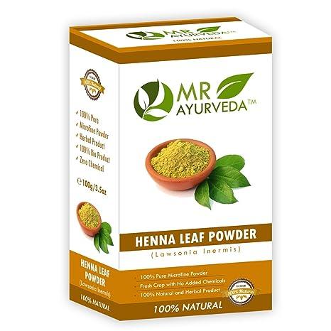 Buy Mr Ayurveda 100 Organic Henna Powder Hair Color 100 Gm