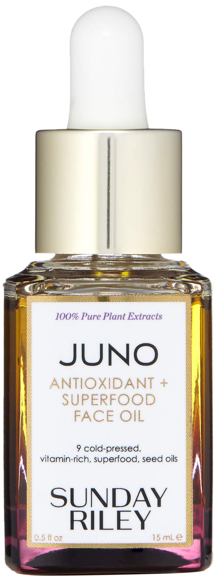 Sunday Riley JUNO Antioxidant + Superfood Face Oil, 0.5 Fl Oz