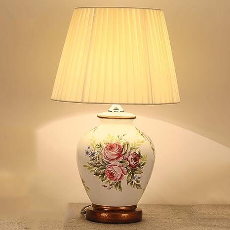 Yu chuang xin Lampada da tavolo in ceramica, lampada da tavolo ...
