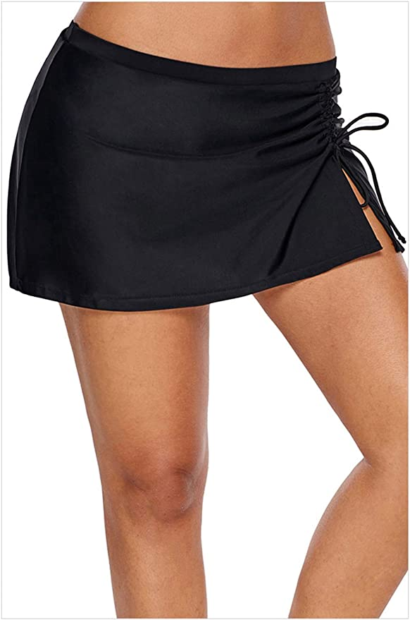 Hoverwin Mujer Shorts de Baño Falda Bikini para Mujer Bragas ...