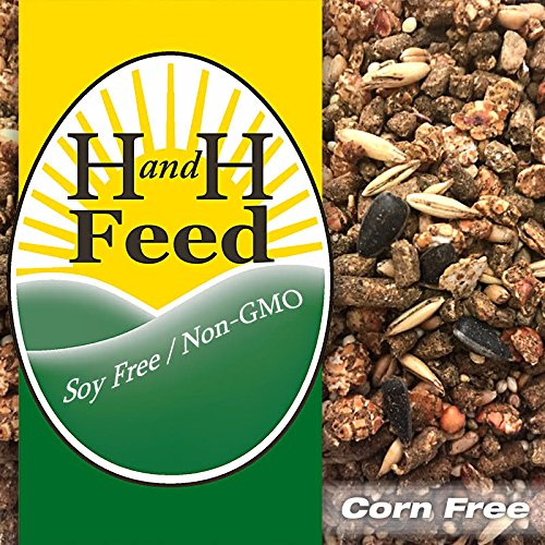 Amazingly Tasty Layer Feed for Hens Freshly Milled: Non-GMO, Soy Free,...