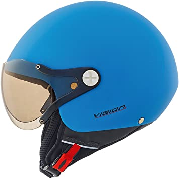 Motocicleta Nexx X60 Vision Plus casco explosión azul M UK vendedor