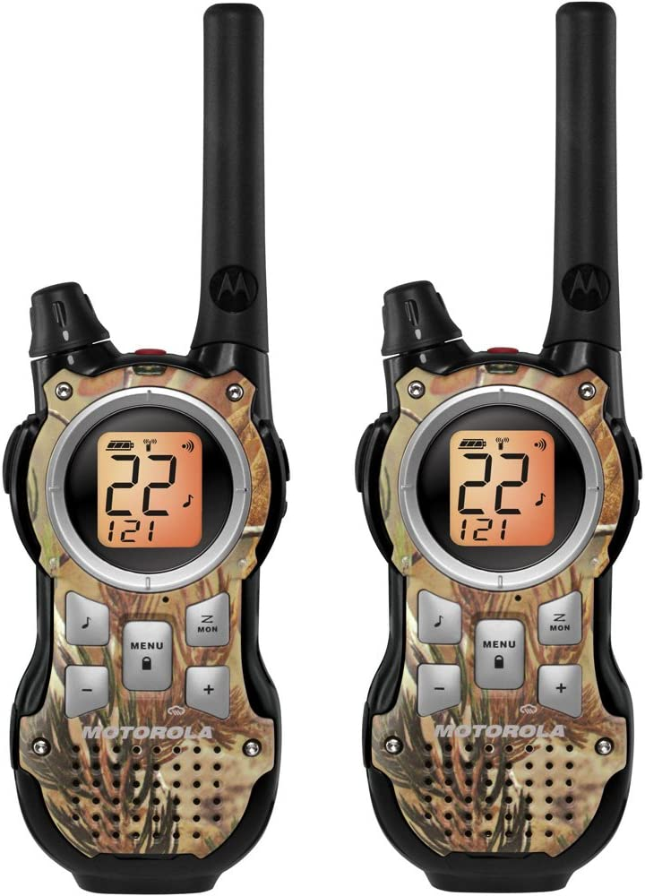Motorola MR355R 35-Mile Range 22-Channel FRS/GMRS Two-Way Radio (Pair)