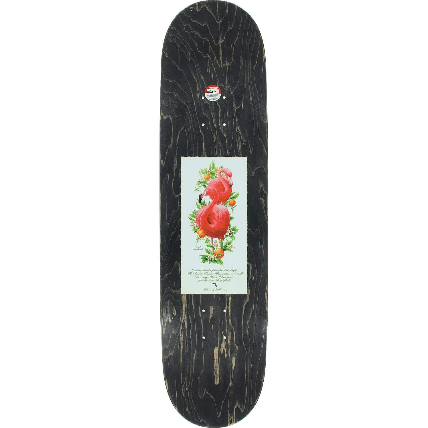 02389198 Real Skateboards Zion Wright Natural Domain II Skateboard Deck - 8.25