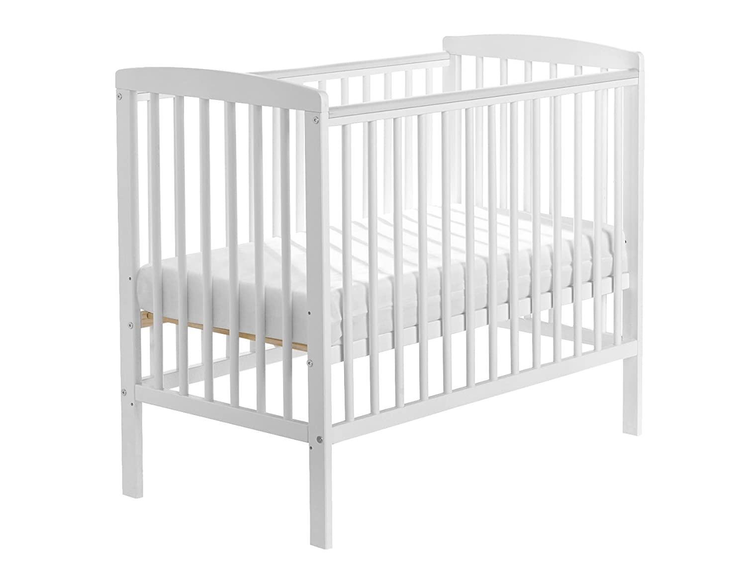 Kinder Valley Sydney Compact Cot (White) SYDCOMWHT