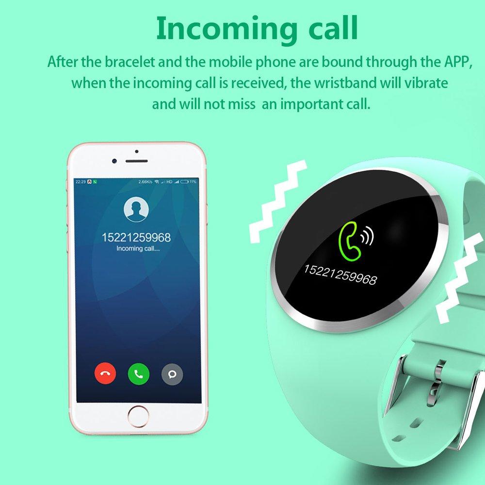 Fitness Armband Uhr mit Pulsmesser Wasserdicht IP67 Fitness Tracker ...