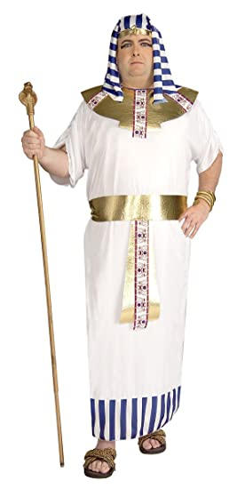 More plus size pharaoh adult costume