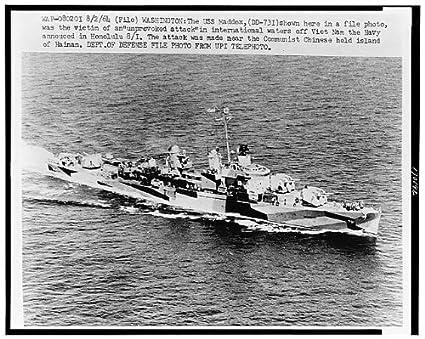 .com: historicalfindings po: u.s.s. maddox, dd-731, warship ...