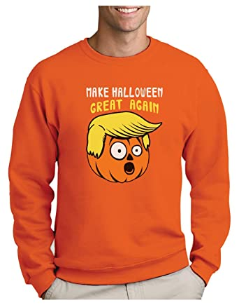 Green Turtle T-Shirts Sudadera para Hombre - Make Halloween Great Again Trump Calabaza Noche de Brujas: Amazon.es: Ropa y accesorios