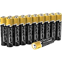 20-Pack NANFU 1.5v AAA Premium LR03 Alkaline Non Rechargeable Batteries