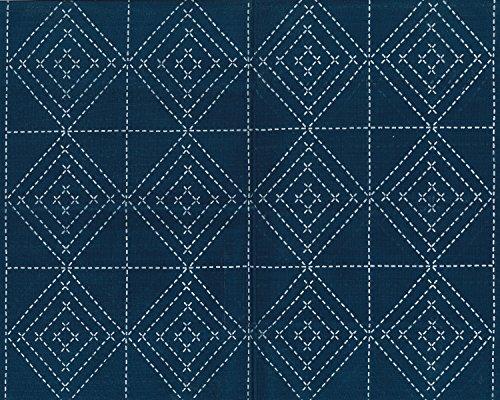 Nazca Sashiko cloth indigo 6